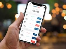Stock5 Mobile App Design