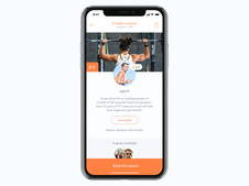 Fitness Sessions On-demand Mobile App