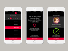 Manhattan Exercise Co. Trainer/Client Mobile App