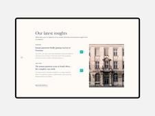 Lipis Advisors—Rebranding and Web Design