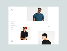 S-A Minimal Web Store