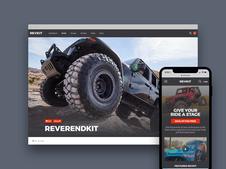 REVKIT Responsive Website
