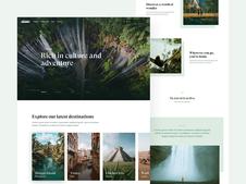 Travel Site | Web Design and Branding