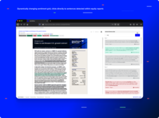 Advanced Research Discoverability Tool for Drawing Insights from Unstructured Text