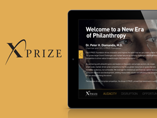 XPRIZE Microsite for Potential Investors