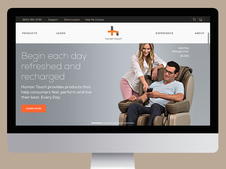 HumanTouch eCommerce Website Design