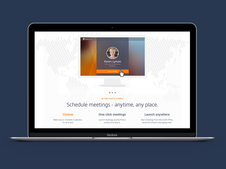 Citrix GoToMeeting Responsive Website
