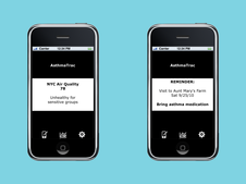Asthma Attack Tracking App