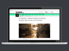 The Reader News Website