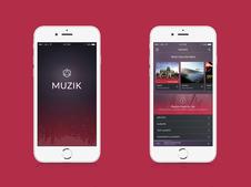 Muzik App Prototype