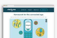 Sterio.me Product Design