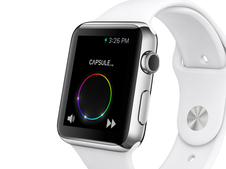 Capsule.fm iPhone and Apple Watch App