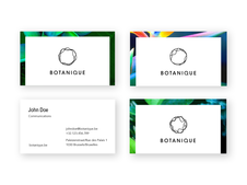 Visual Identity and Website Redesign for Botanique