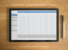 A Next-gen Big Data CRM Platform for Microsoft