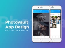 App Design | Private Vault Platform