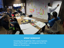 Design Sprint for Mobile Language Learning