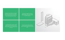 Lux Corporate Center Identity Design