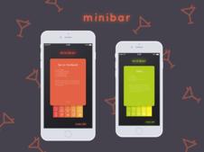 Minibar Mobile App UI Design Concept
