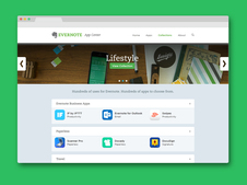 Evernote App Center