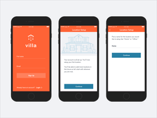 Villa Smart Home iOS App