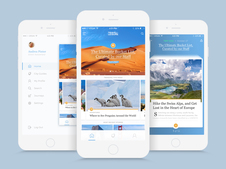 Travel+Leisure iOS Mobile App
