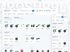 MRO Supply   eCommerce Website