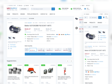 MRO Supply | eCommerce Website
