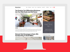 Brownstoner UI Redesign