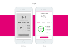 T-Mobile || Mobile Application