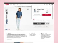 Levi.com eCommerce Redesign