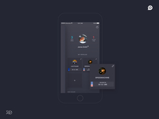 iOS Social Media App UX and UI design