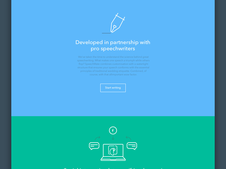 SPEECHMATE | Web App Design