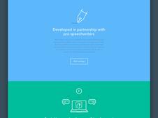 SPEECHMATE   Web App Design