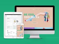 ODD PEARS | eCommerce Design