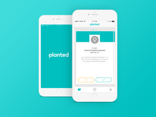 Planted App for Job Seekers