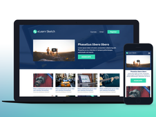 eLearn Sketch | Multi-Purpose Sketch Template