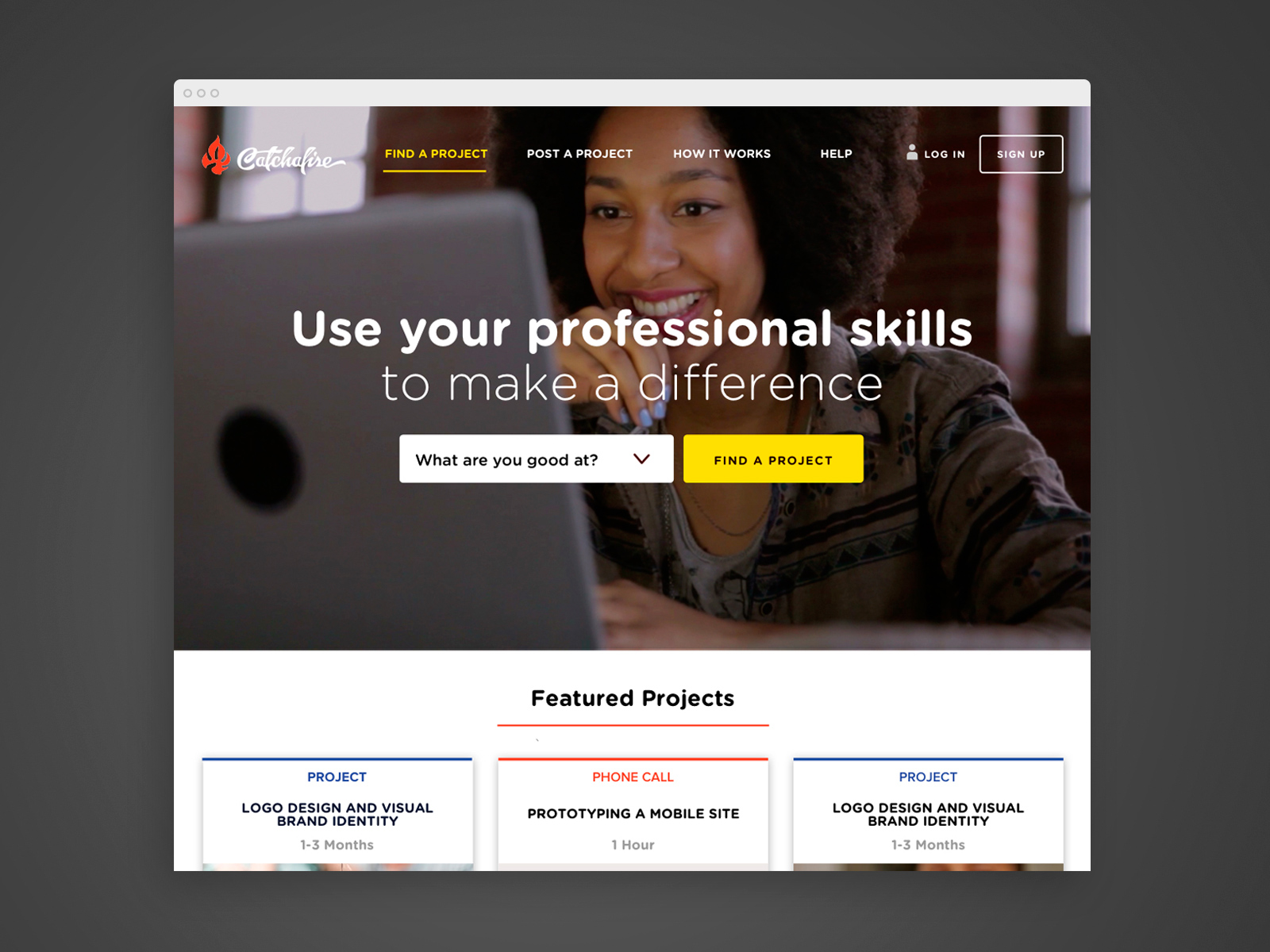Consumer Landing Page