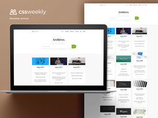 CSS Weekly Website and Newsletter Redesign