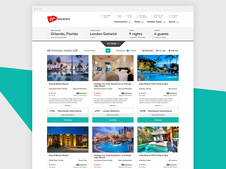 Virgin Holidays · Search Results