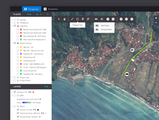 GUI for Geographic Information System