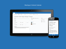 Meetings in Outlook Calendar