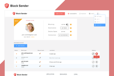 Block Sender | Gmail Plug-in