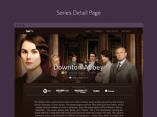 Fan TV Web App Redesign