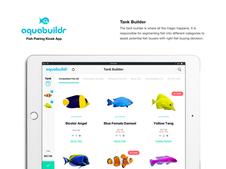 AquaBuildr Fish Pairing App